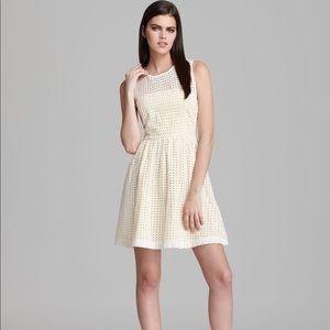 French connection eyelet dress